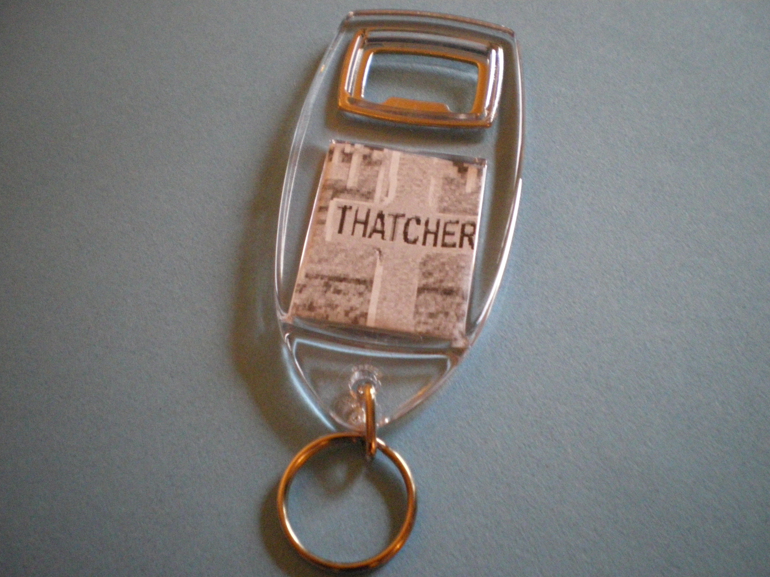 Maggie thatcher Key rings and bottle openers